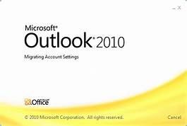 Hướng dẫn import/export data mail với OutLook 2010