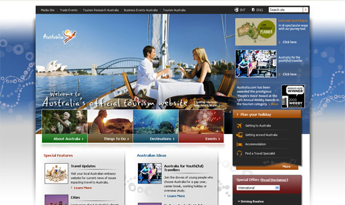 Information about Australian holidays and Travel